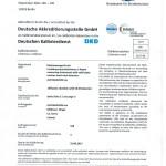 BFS Calibration Cert 2017-1